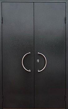 железная уличная дверь эконом класса с установкой