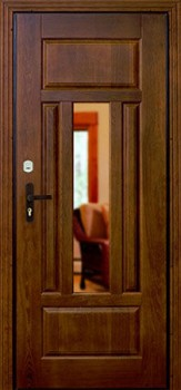 металлические двери с зеркалом в электросталь
